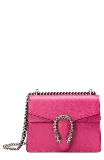 Gucci Mini Dionysus Leather Shoulder Bag