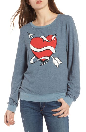 Dream Scene Heart & Arrows Sweatshirt