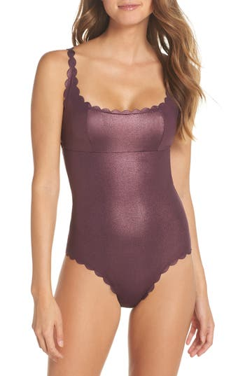 PilyQ Gwen Reversible Seamless One-Piece Swimsuit