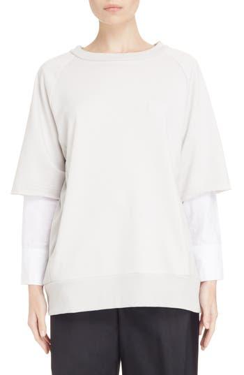 Y's by Yohji Yamamoto Double Sleeve Sweatshirt