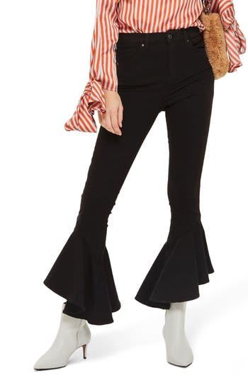 Topshop Jamie Mermaid Hem High Waist Skinny Jeans