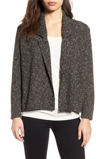 Eileen Fisher Tweed Sweater Jacket