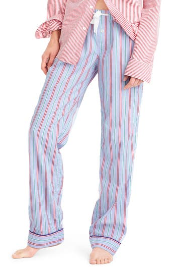 J.Crew Candy Cane Pajama Pants