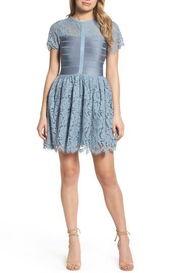 French Connection Shana Spotlight Lace Dress