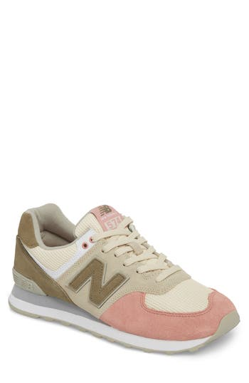 new balance men's 574 serpent luxe sneaker
