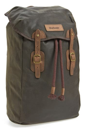 Barbour Waxed Canvas Backpack Nordstrom