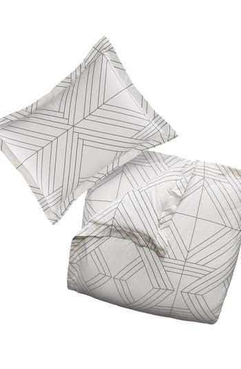 Deco Diamonds Duvet Cover & Sham Set by Bcbgeneration