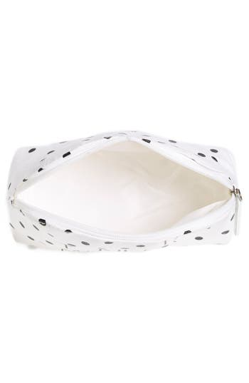 Alternate Image 2  - Itsa Girl Thing 'I Need Mascara' Polka Dot Cosmetic Case