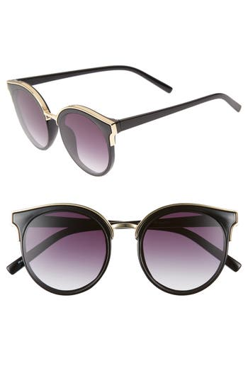 51mm Metal Trim Round Sunglasses by Bp.