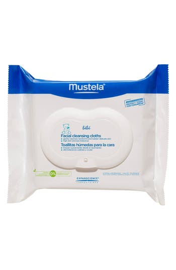 Alternate Image 1 Selected - Mustela® Facial Cleansing Cloths with PhysiObébé®