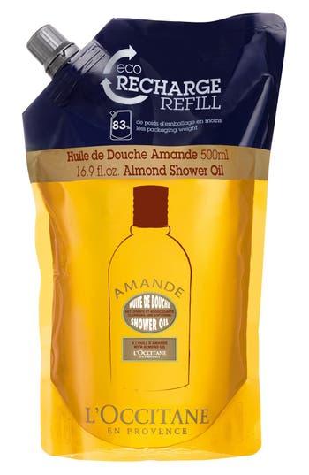Alternate Image 1 Selected - L'Occitane 'Almond' Eco-Refill Shower Oil