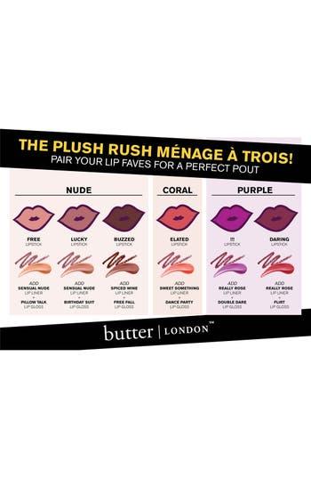 Alternate Image 3  - butter LONDON 'Plush Rush' Lip Liner