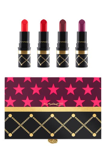 Alternate Image 1 Selected - MAC Nutcracker Sweet Red Mini Lipstick Kit