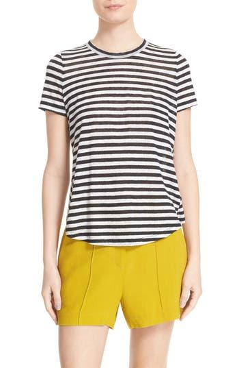 A.L.C. Tesi Stripe Linen T..