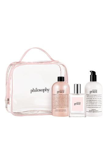 Main Image - philosophy 'amazing grace' gift set (Nordstrom Online Exclusive) ($118 Value)