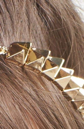 Alternate Image 2  - Cara Spiked Pyramid Chain Head Wrap