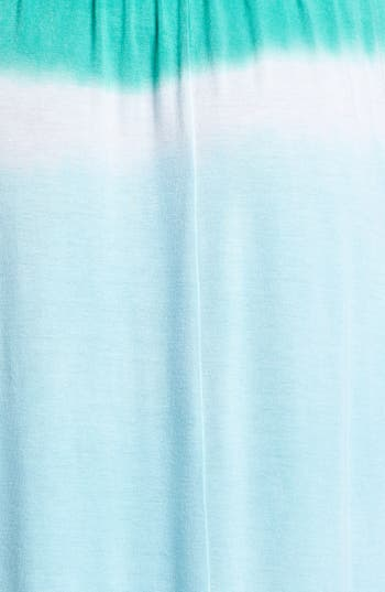Alternate Image 3  - Loveappella Colorblock Maxi Dress (Petite)