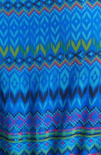 Alternate Image 3  - Sweet Pea by Stacy Frati Print Chiffon Maxi Dress (Plus Size)