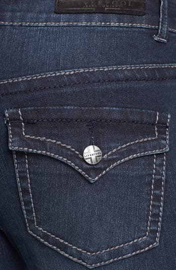 Alternate Image 3  - Liverpool Jeans Company 'Rita' Flap Pocket Stretch Bootcut Jeans