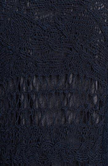 Alternate Image 2  - Lucky Brand 'Alonsa' Mixed Knit Cardigan