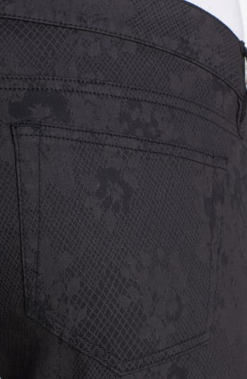 Alternate Image 6  - The Kooples Skinny Print Stretch Jeans
