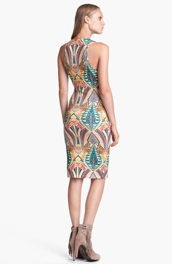 Alternate Image 2  - WAYF Print Body-Con Tank Dress