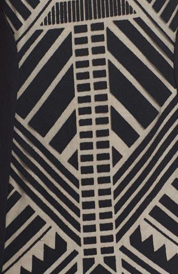 Alternate Image 3  - Fire Graphic Print Tank Midi Dress (Juniors)