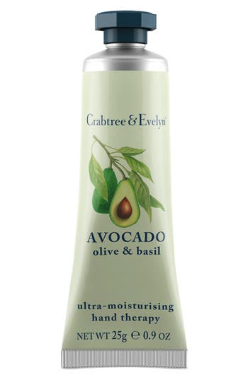 Alternate Image 1 Selected - Crabtree & Evelyn 'Avocado, Olive & Basil' Ultra-Moisturising Hand Therapy (0.9 oz.)