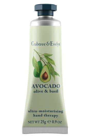 Main Image - Crabtree & Evelyn 'Avocado, Olive & Basil' Ultra-Moisturising Hand Therapy (0.9 oz.)