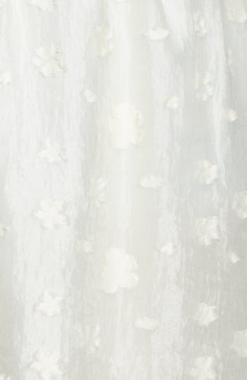 Alternate Image 3  - Lush Floral Textured Skirt (Juniors)