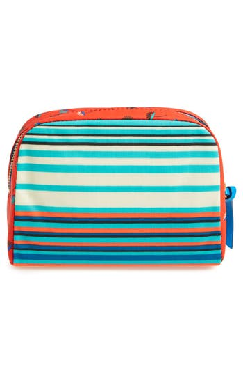 Alternate Image 4  - MARC BY MARC JACOBS 'Large' Stripe Coated Cotton Cosmetics Case