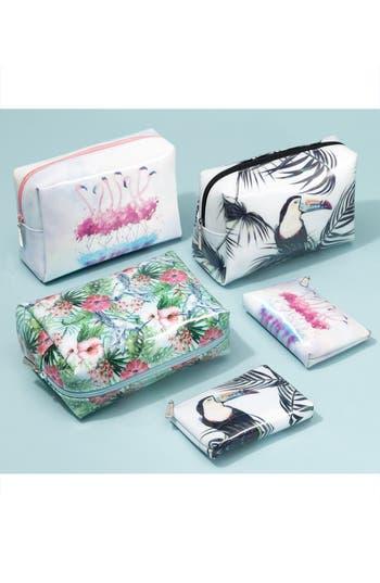 Alternate Image 6  - Catseye London Flamingo Small Zip Pouch