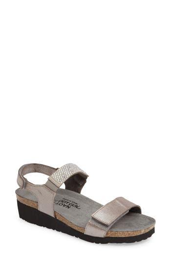Naot 'Lisa' Crystal Embellished Sandal (Women)