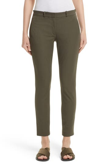 JOSEPH New Eliston Gabardine Straight Leg Pants