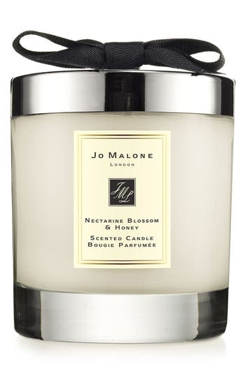 jo malone 39 nectarine blossom honey 39 scented home candle. Black Bedroom Furniture Sets. Home Design Ideas