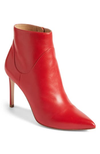 Francesco Russo Pointy Toe Bootie (Women)