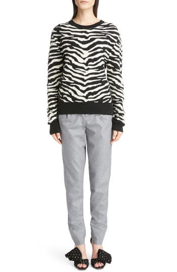 Saint Laurent Tiger Knit Sweater