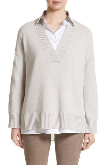 Lafayette 148 New York Vanisé Cashmere Sweater