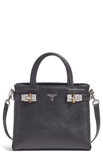 Serapian Milano Mini Meline Evolution Leather Bag