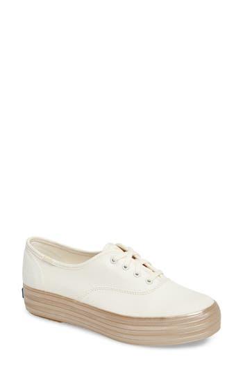 Keds? Triple Shimmer Platform Sneaker (Women)