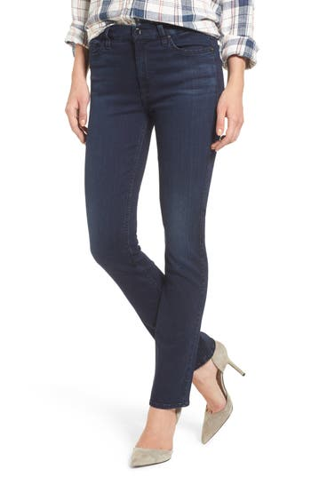 Jen7 Slim Straight Jeans