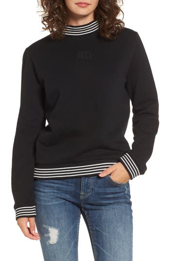 Obey Quinn Mock Neck Sweatshirt