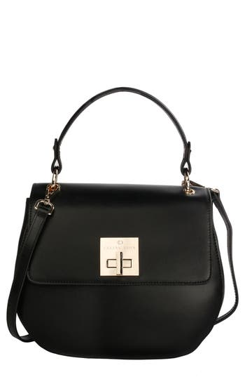 C?line Dion Minuet Faux Leather Top Handle Satchel