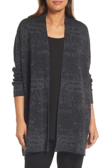 Eileen Fisher Organic Linen & Cotton Cardigan