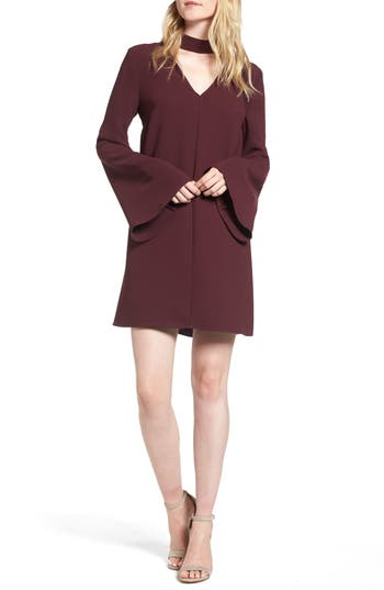 Trouvé Choker Bell Sleeve Dress