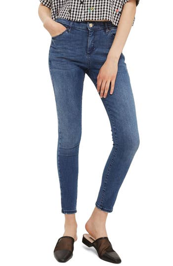 Topshop Sidney Skinny Ankle Jeans