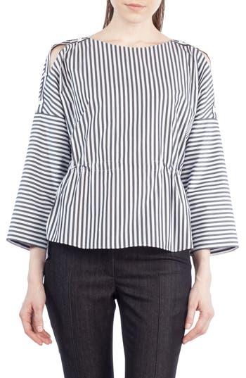 Akris punto Stripe Cotton ..