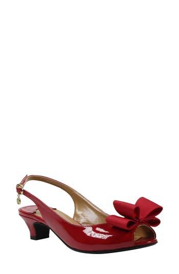 J. Rene? Landan Bow Slingback Sandal (Women)