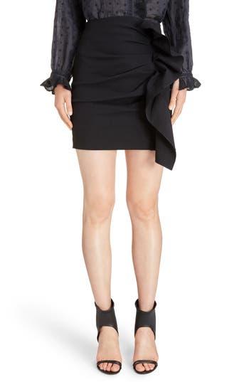 Isabel Marant Lefly Ruffle Miniskirt