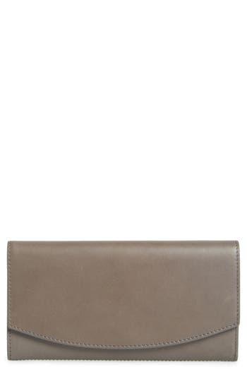 Skagen Leather Continental Flap Wallet